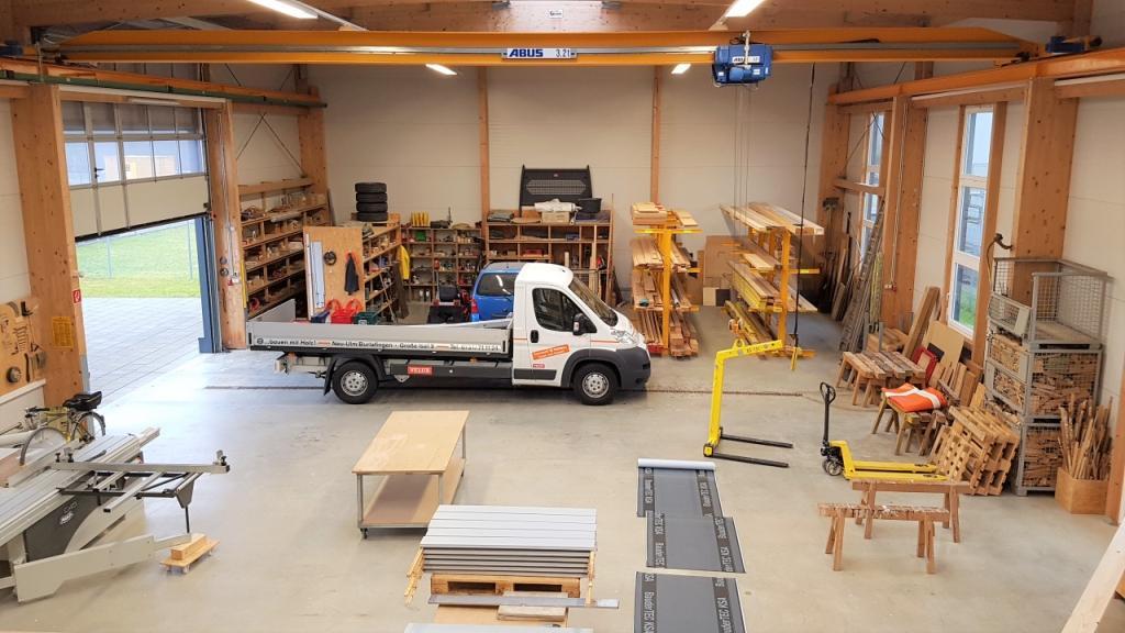 Holzbau innen  Zimmerei + Holzbau: Nägele Bau Neu-Ulm
